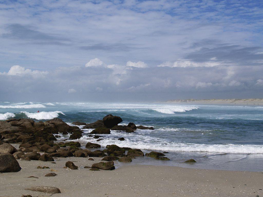 La Pointe de la Torche : mer déchaînée